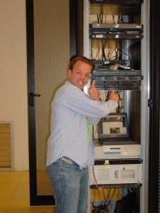 Mark Hoekstra redt de Nieuwe Garde-server in 2006