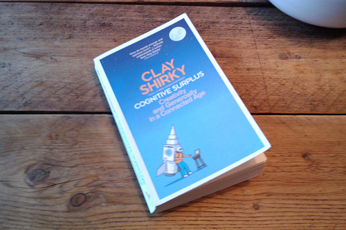 Gelezen: cognitive surplus, Claus Shirky