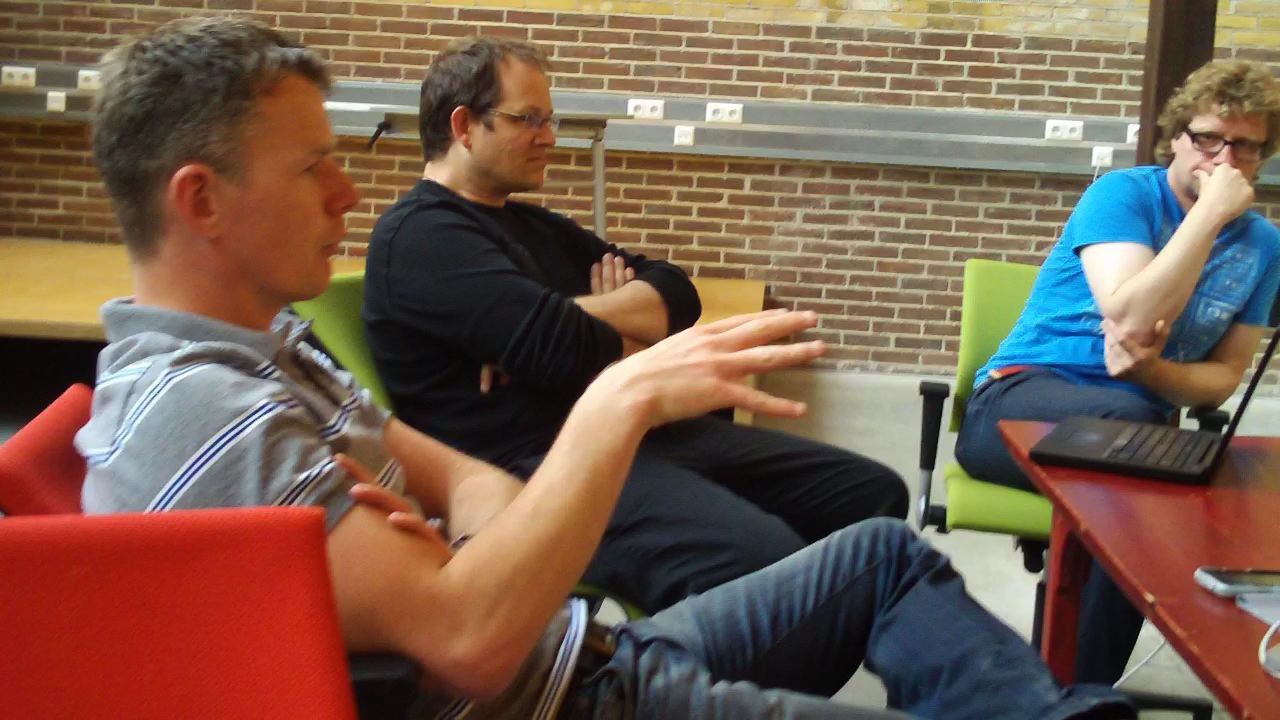 Niels Aalberts, Andrew Dubber and Marco Raaphorst