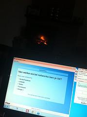 Zo op de bank met @camarados naar webinar kijken #byoc